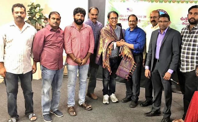 TANTEX Felicitated Vandemataram Srinivas In Dallas - Sakshi