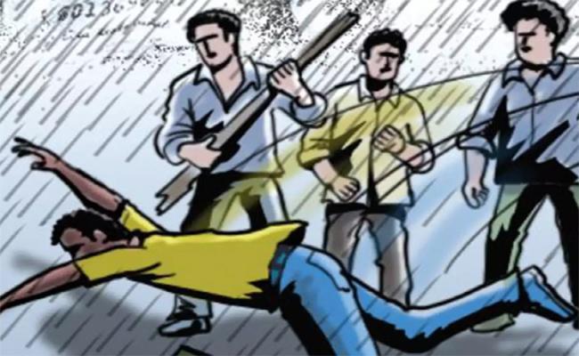 Tdp Leaders Attacks On Ysrcp Activist Nandikotkuru - Sakshi