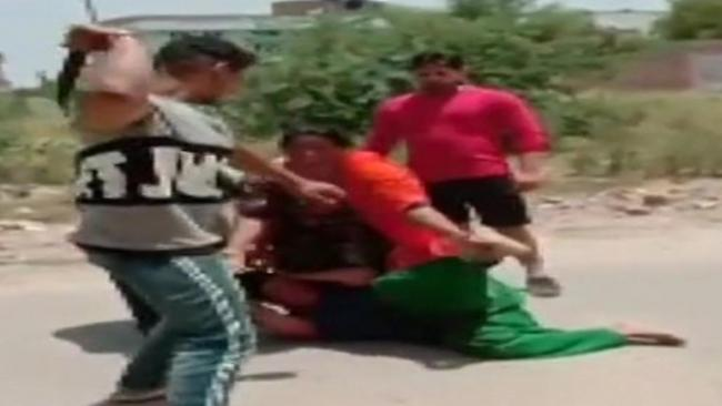 In Punjab Brother of Congress Councillor Aides Thrash Woman Over Money Issue - Sakshi