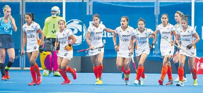 India beats Uruguay 4-1 in campaign opener - Sakshi