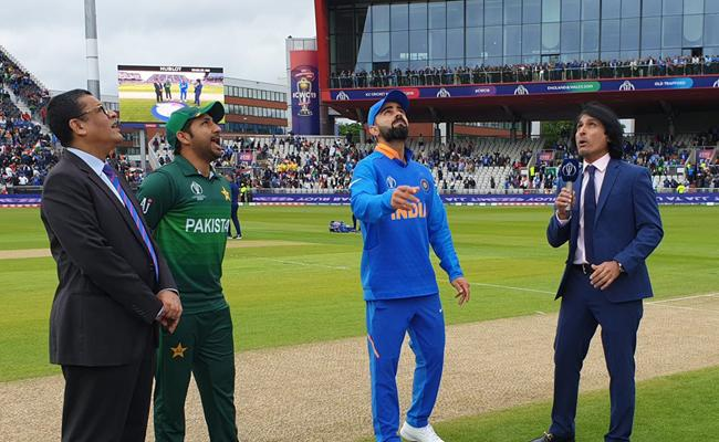 Pakistan Won the Toss Elected to Field First Against India - Sakshi