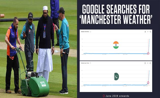 Indians and Pakistanis are Googling Manchester Weather Report - Sakshi