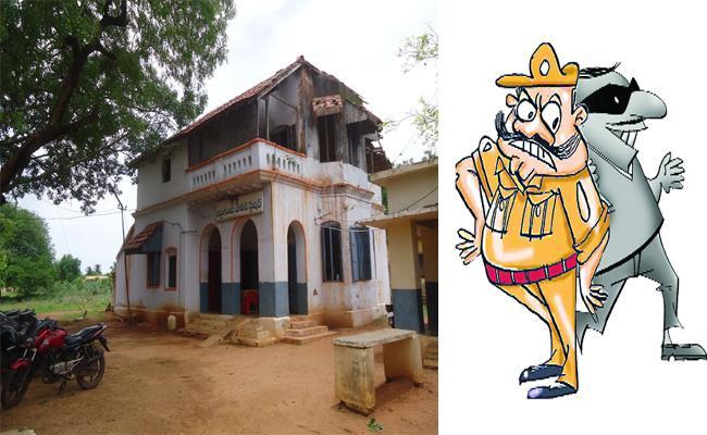 Police Doing Criminal Activities In Kavali - Sakshi