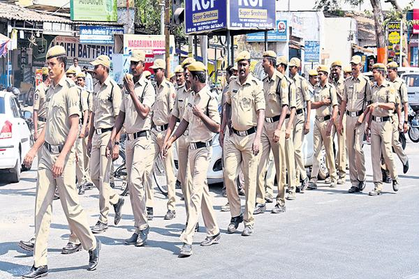 Weekly Off Implementation to Police Department Is Starts From This Saturday - Sakshi