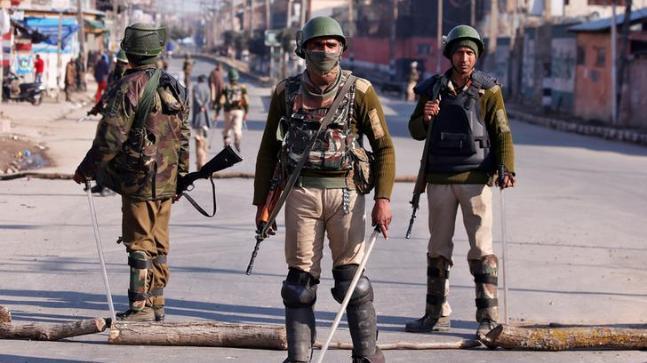 High Alert Sounded in Jammu And Kashmir - Sakshi