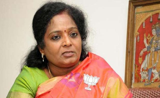 Tamilisai Soundararajan Cell Phone Got Thefted - Sakshi