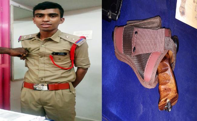Fake Police Cheated Unemployed Youth In Vizianagaram - Sakshi