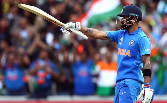 Kohli Smashes Record For Fastest To 11000 ODI Runs - Sakshi