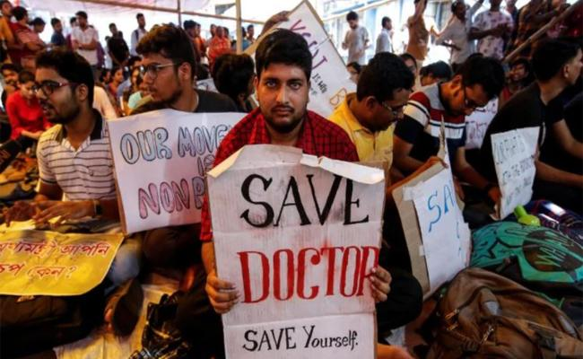 Doctors Strike Continue in West Bengal, Enters in Sixth Day - Sakshi