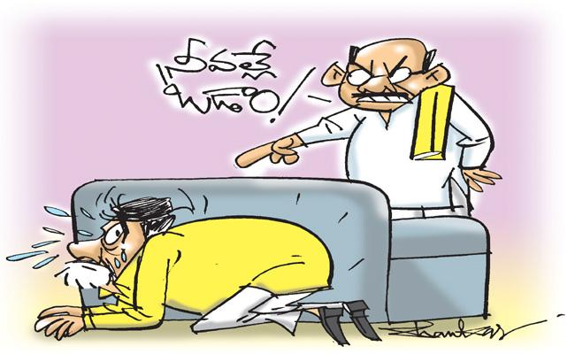 Article on Chandrababu Role In TDP Defeat - Sakshi