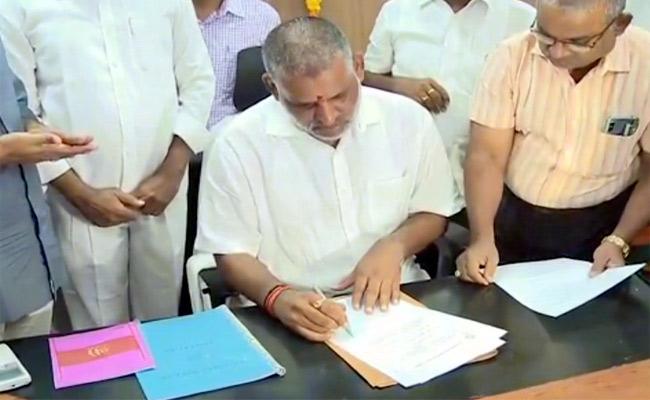 Chevireddy Bhaskar Reddy Takes Charge As TUDA Chairman - Sakshi