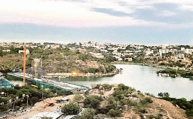South Indian First Cable Bridge At Hyderabad - Sakshi