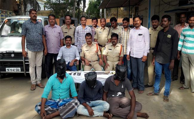 Man brutally Killed In Railway koduru  - Sakshi