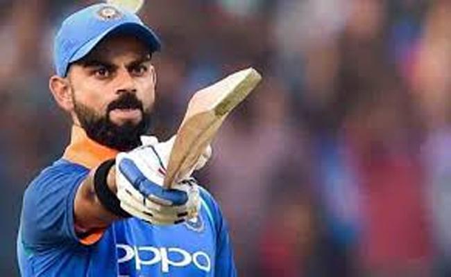 Virat Kohli Gets Good Reception For India-Pakisthan Match - Sakshi