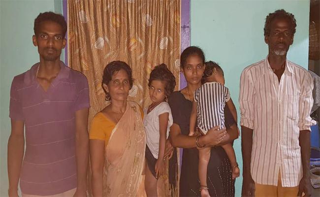 Village Heads  Punished  Family  Because Of  Land Disputes - Sakshi