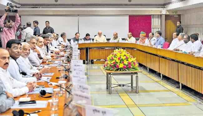 At all-party meet chaired by PM Modi, unemployment, farmer distress - Sakshi