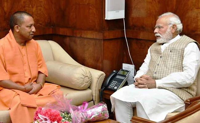 Modi Asks CM Adityanath To Solve Water Crisis In UP - Sakshi