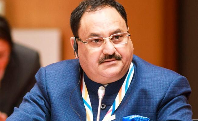 J P Nadda Elected As The BJP National Working President - Sakshi