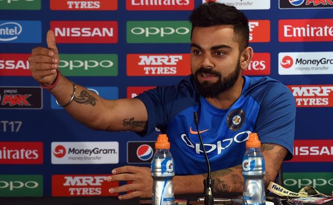 Virat Kohli Says The Ball to Dismiss Babar Was An Outstanding Delivery - Sakshi