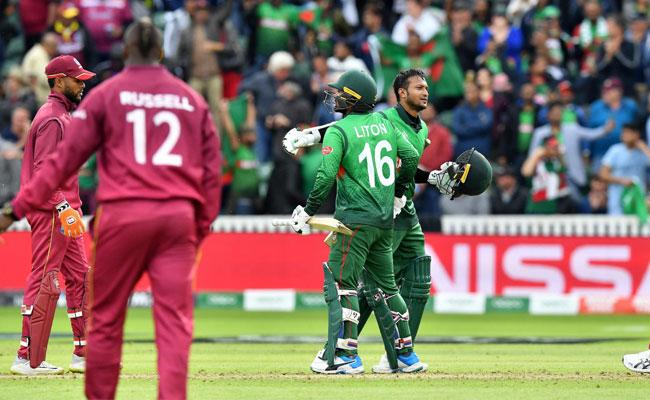 World Cup 2019 Bangladesh Beat West Indies By 7 Wickets - Sakshi