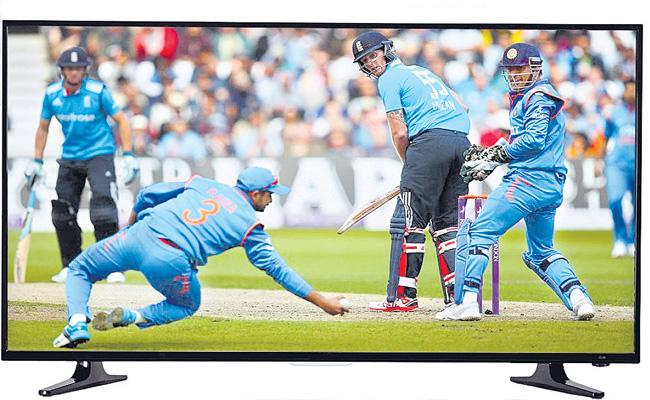 ICC World Cup Helps To Big Screen TV Sales Increase - Sakshi