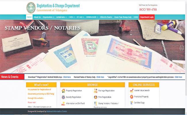 Staff Shortage in Registrtion Department - Sakshi
