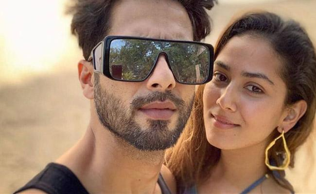 Shahid Kapoor Says Fights With Wife Mira Rajput Can Last Up To 15 Days - Sakshi