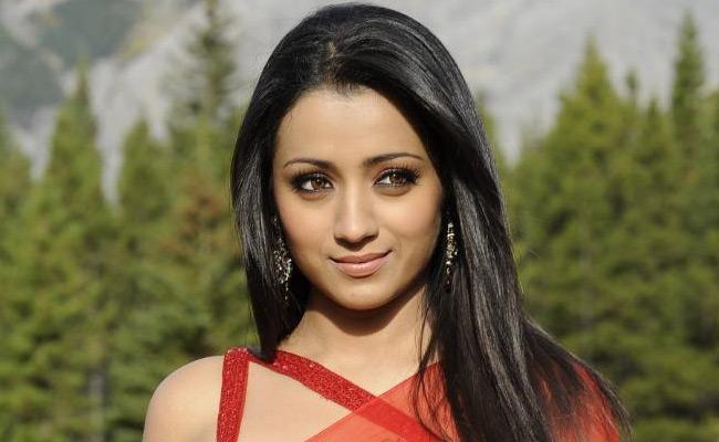 Trisha Is Reday With Garjana Movie - Sakshi
