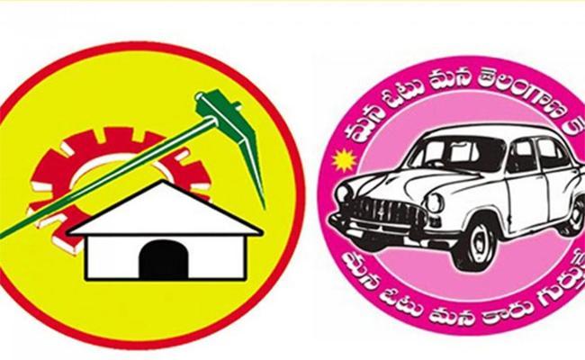 TRS Vs TDP In Khammam - Sakshi