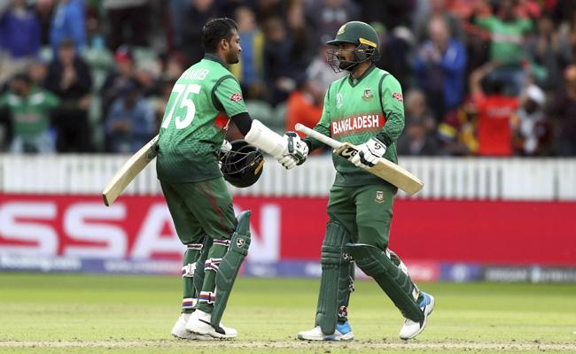 Bangladesh beat West Indies by seven wickets - Sakshi