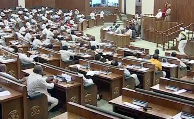 AP Assembly Adjourned To Sindie - Sakshi