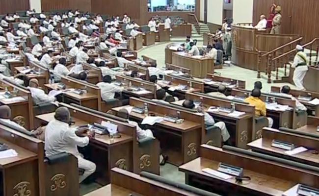 AP Assembly Adjourned To Sindie - Sakshi
