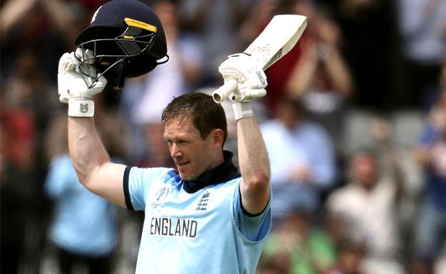 Morgans explosive hundred puts England in control - Sakshi