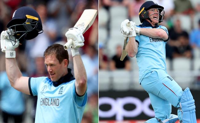 World Cup 2019 England Set 398  Runs Target To Afghanistan - Sakshi