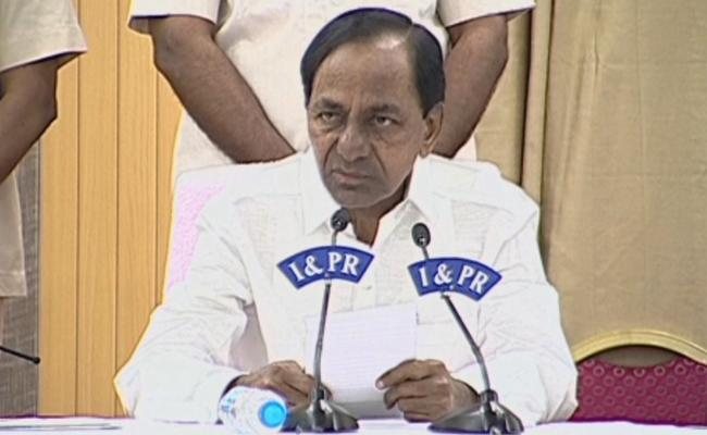 Telangana CM KCR Sppech After Cabinet Meeting - Sakshi