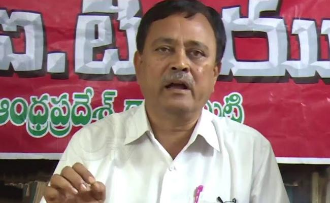 CITU Chief Secretary MA Gafur Press Meet In Vijayawada - Sakshi
