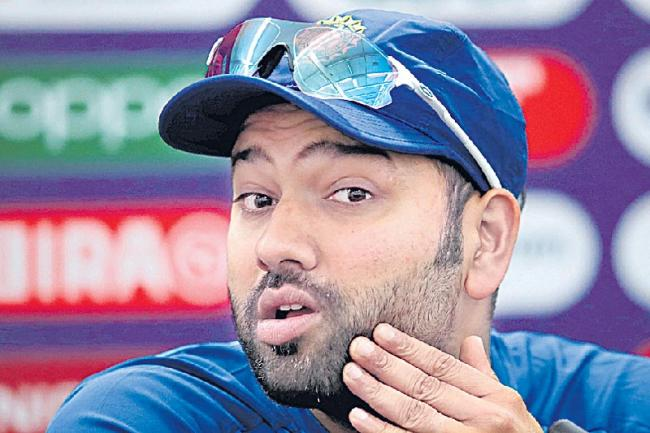 Rohit Sharma Was Asked to Give Advice to Pakistan - Sakshi