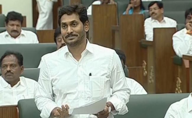 CM YS Jagan Fires On Chandrababu Naidu In AP Assembly - Sakshi