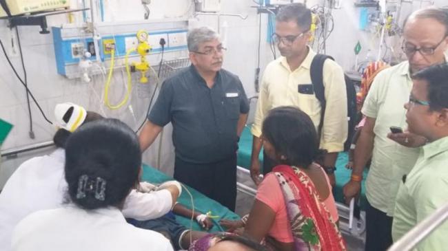 MP Ajay Nishad Responds On Muzaffarpur Child Deaths - Sakshi