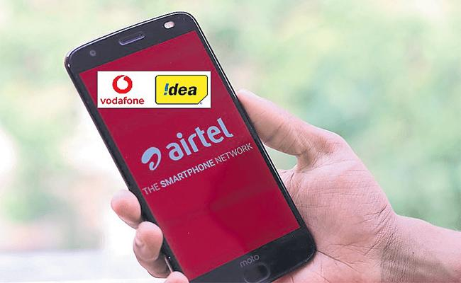 DCC Approve Penalty to Airtel Idea And Vodafone - Sakshi