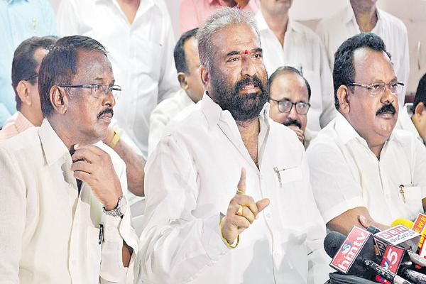 Dharna across the state on the 25th - Sakshi