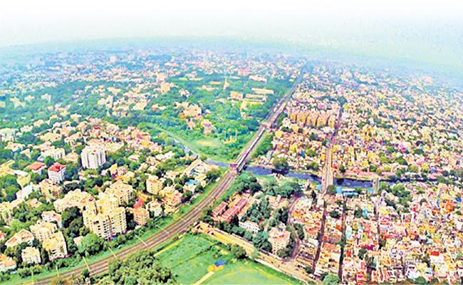 GHMC Drone Maps Soon - Sakshi