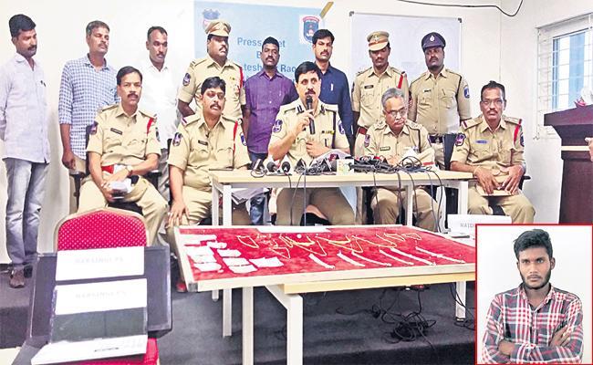 Gold Robbery in Hyderabad Man Arrest - Sakshi