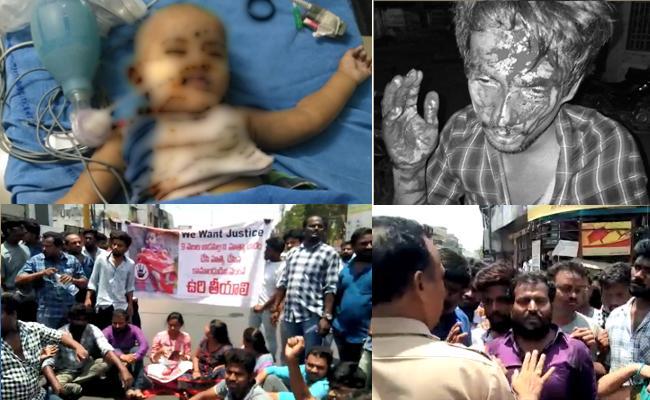 Hanamkonda people demands justice for Shritha murder - Sakshi