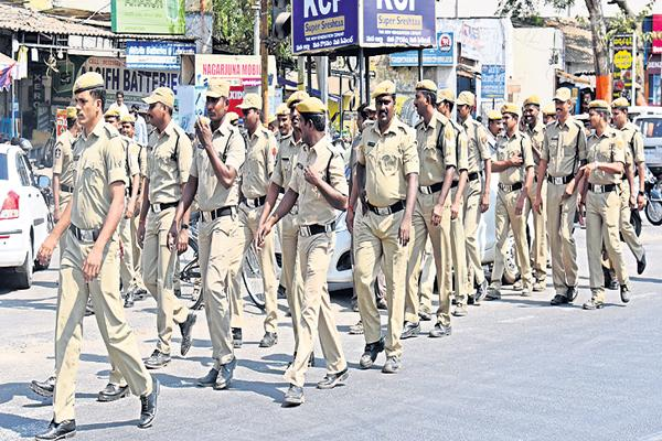 Weekly Off to Police from today across the state - Sakshi