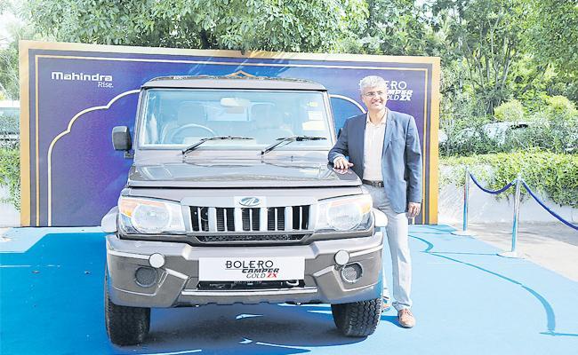 Mahindra And Mahindra Bolero 12 Percent Growth in pickups - Sakshi