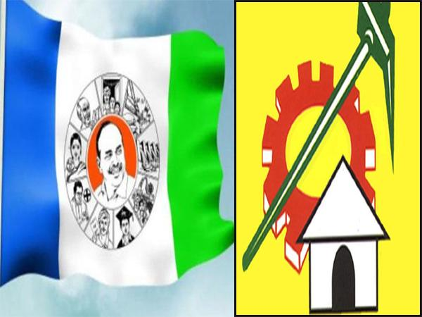 TDP And YSRCP members Word war on Special status for AP - Sakshi