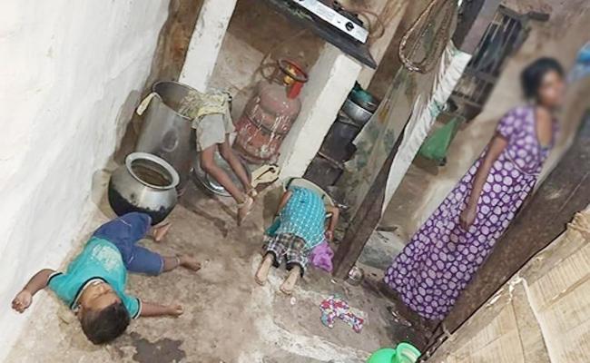 Mother Killed Children And Commits Suicide in Karnataka - Sakshi