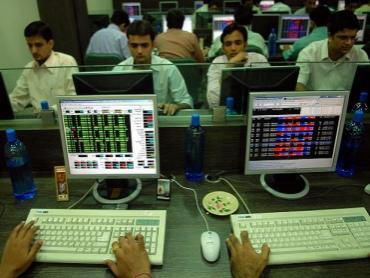 Markets Ends Volatile Session With Moderate Gain - Sakshi