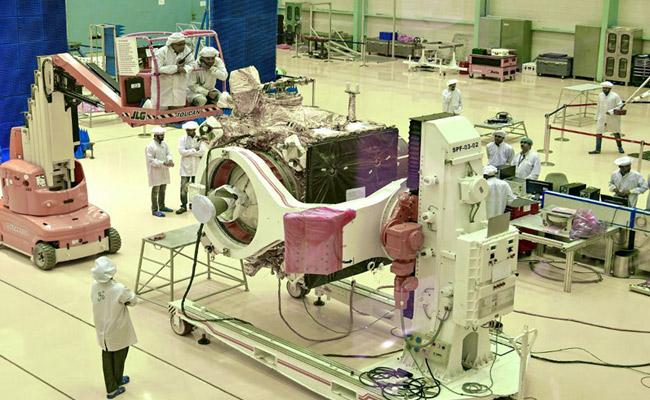 Chandrayaan 2 Launching Arrangements Going On At SHAR - Sakshi